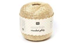 Häkelgarn Essentials Crochet Glitz von Rico