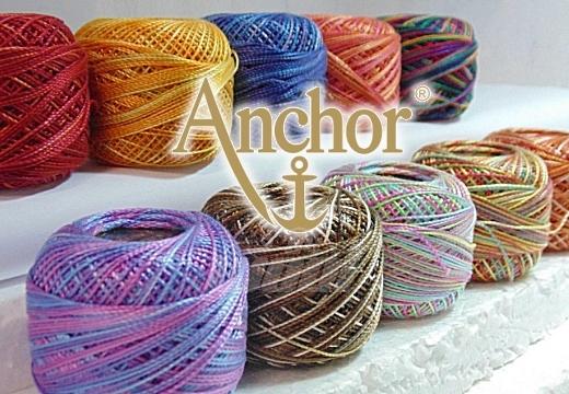 Anchor Stickgarn aus Baumwolle pro Kn/äuel 132 Str/änge