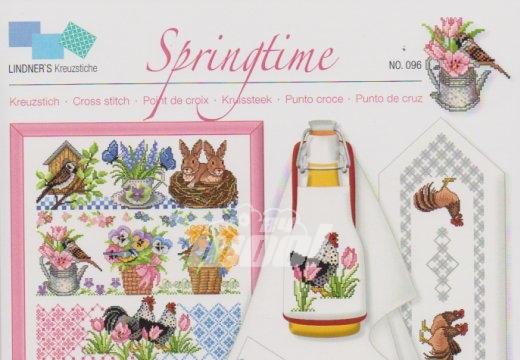 Lindner´s Kreuzstich No 96 Springtime