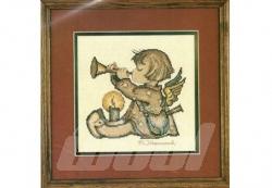 Hummelstickpackung: Angel with Horn