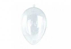 Plastik - Ei, teilbar,  14 cm
