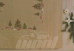 Stickpackung: Mitteldecke Bäume