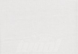 Aidastoff: weiß , 55 Kästchen auf 10 cm