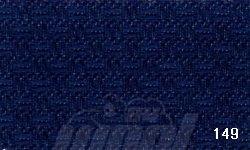 Stoff für Gerstenkornstickerei 196 dunkelblau